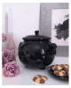 KILLSTAR Witch Cauldron Ceramic Cookie Jar