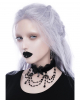 KILLSTAR Lilia Lace Collar