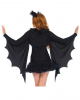 Cuddly Bat Bolero With Ear Hairband
