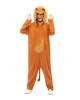 Cuddly Lion Jumpsuit For Adults