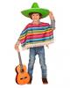 Mexikaner Poncho Kindergröße