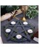 Gothic Pentagramm Teelichthalter