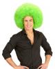 Huge Afro Wig Green