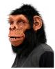 Schimpanse Latexmaske mit Haaren