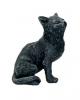 Schwarze Katze Talisman 9cm