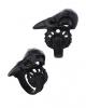 Black Raven Skull Ring