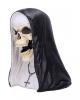 Sister Mortis Skelett Nonnen Statue 29cm