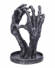 Skeleton Hand With Heart Jewelry Holder