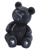 Gothic Bär mit roten LED Augen