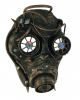 Steampunk Jet Pilot Half Mask