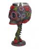 Sugar Skull Kelch mit Blütenmuster