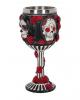 Sugar Skull Goblet With Roses