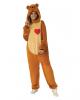 Teddybär Kostüm mit Herz Unisex