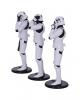 Three Wise Stormtrooper Figures