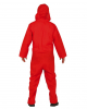 Bank Robber Overall Red