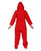 Verbrecherin Jumpsuit Rot
