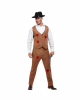 Clyde Zombie Gangster Men Costume
