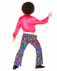 70s Pants Bubbles Blue