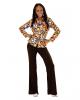 70s Groovy Costume Blouse Bubbles