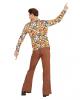 70er Jahre Kostüm Hemd Bubbles
