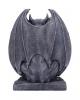 Adalward Black Gargoyle Figurine 26cm