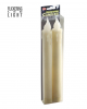 LED Tropfkerzen Set Beige