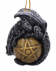 Dragon With Pentagram Christmas Bauble 9cm