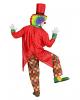 Clown Kostümfrack mit Zylinder