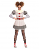 Creepy Clown Minidress Costume