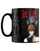 Death Note Kira & Ryuk Becher mit Thermoeffekt