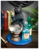 Der Hexenlehrling Katzenfigur 19,5cm