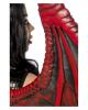 Drachen Lady Kostüm mit Flügeln