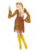 Flower Power Hippie Girl Kostümkleid