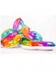 Regenbogen Folienballon Zahl 1