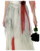 Gespenster Braut Kostüm mit Schleier für Damen