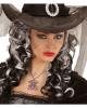 Gothic Necklace With Purple Rhinestone Spider