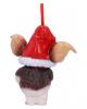 Gremlins Gizmo mit Nikolausmütze Christbaumkugel