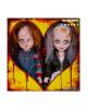 Living Dead Dolls Chucky und Tiffany Set 25cm