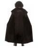 Medieval Velvet Cape With Faux Fur