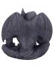 Nachdenklicher Gargoyle mit Flügel 13cm