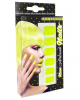 Airbrush Fingernägel Neon Gelb
