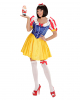 3-piece Snow White Costume