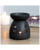 Schwarze Katze Duftöl Brenner