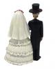Skelett Hochzeitspaar 14 cm