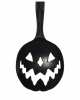 Spooky Pumpkin Teaspoon Black