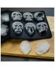 Totenschädel Eiswürfelform aus Silikon 2er Set