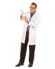 Weißer Unisex Arzt Kittel
