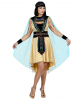 Ägyptische Herrscherin Kostüm mit Umhang