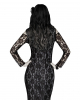 Elegantes Spitzen Skelett Kleid