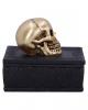 Keltische Box mit Goldenem Totenkopf